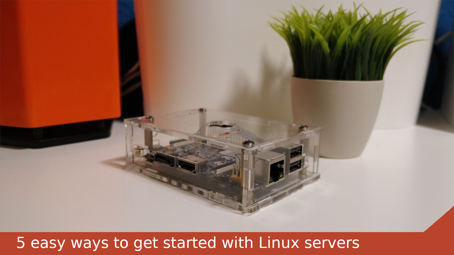 5 easy ways to get started with Linux servers without a homelab cover image
